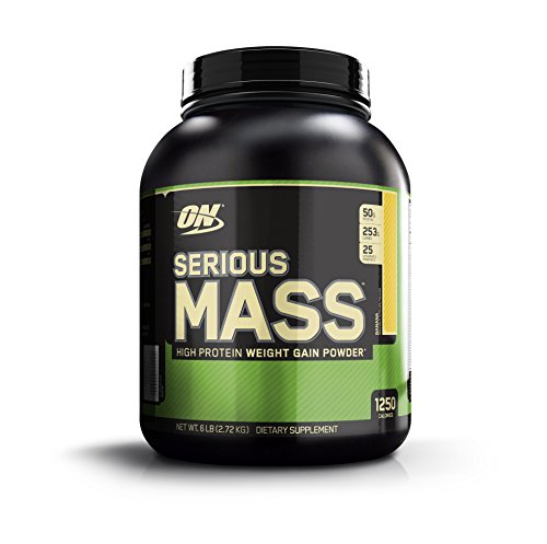 Optimum Nutrition Serious Mass Weight Gain Powder,...