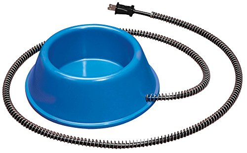 Allied Plastic Heated Pet Bowl, 1-Quart For Sale