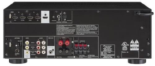 Buy Pioneer VSX-523 5.1-Channel A/V Receiver (Black) (online)