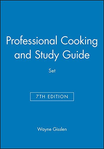 Professional Cooking 7e & Study Guide Set