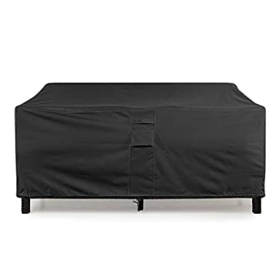 KHOMO GEAR - TITAN Series - Waterproof Heavy Duty Outdoor Lounge Loveseat Sofa Patio Cover