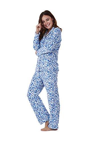 Conjunto de pijama para mujer - Forro polar - Estampado: Amazon.es: Ropa y accesorios