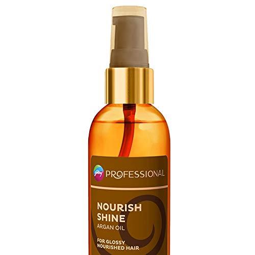 Godrej Professional Nourish Shine Argan Oil Hair Serum, 120ml