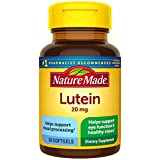 Nature Made Lutein 20 mg Softgels, 30 Count for Eye