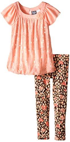Pogo Club Little Girls Jonie  Peach  Large