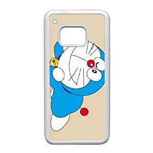 Doraemon_002 TPU Case Cover for HTC One M9 Cell Phone Case White