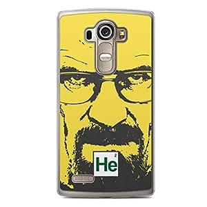 LG G4 Transparent Edge Case Breaking Bad Heisenberg HE