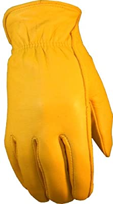 Saranac Campers Gold Lined Women's Gloves
