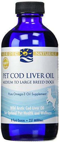 Nordic Naturals - Pet COD Liver Oil, 8 Fl Oz, Unflavored