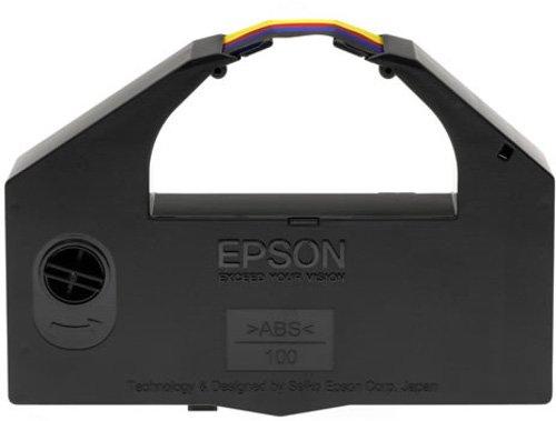 Epson - Printer fabric ribbon - 1 x color (cyan, magenta, yellow, black) - 24 pin