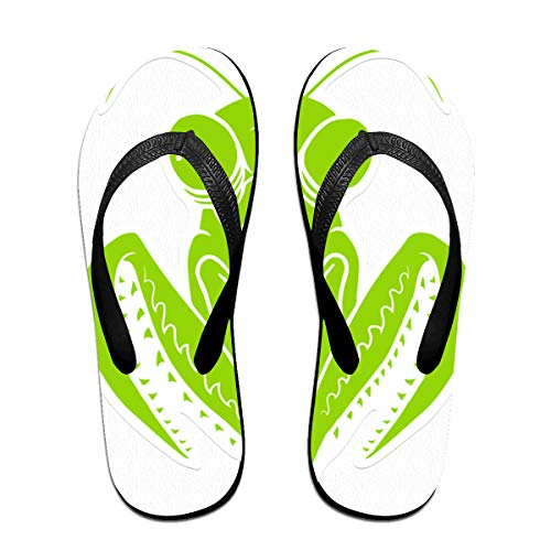 Redeast Thong Flip Flops- Green Mantis Comfortable and Lightweight Sandals Beach Shoes and Shower Shoes