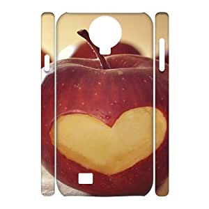 3D Vety Heart on Apple Samsung Galaxy S4 Cases, {White}