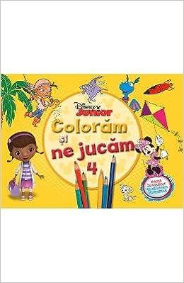 Disney Junior Coloram Si Ne Jucam 4 Planse De Colorat Cu