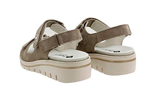Comfort Taupe Donna 180781 PieSanto Sandali Ante estradibile Scarpe Plantare Y81WUxfqz