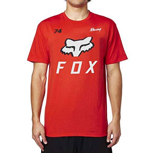 (Fox Racing Men's Racing 74 T Shirt Red XL)