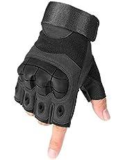 Selighting Tactische handschoenen motorhandschoenen heren halve vinger sporthandschoenen voor airsoft militair paintball motorfiets fiets
