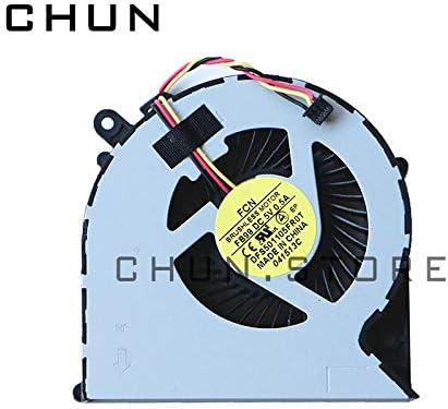 FCQLR Nuevo CPU Ventilador compatibles para Toshiba Satellite C50 C55-A-1HL C55 C855-17X H000062530 enfriamiento Ventilador