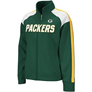 Amazon.com : Reebok Green Bay Packers Ladies Green Bonded