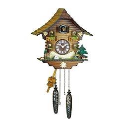 Kuckulino Quartz Pendulum Chalet Cuckoo Clock by Trenkle Uhren
