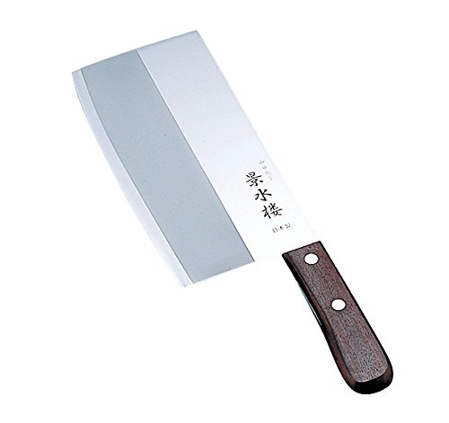 카타 오카 제작소 경수루 중식도 칼몸체:스테인레스 칼날강 /  핸들:천연목 일본 AKI0601