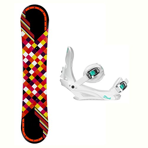 ck Solstice 4 Womens Snowboard and Binding Package - 140cm/Medium ()