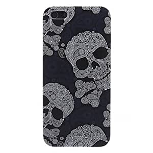 Huesos caso duro del patrón para el iphone 5/5s