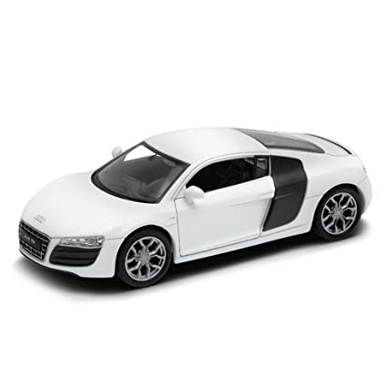 Buy Welly Audi R V White Online At Low Prices In India - White audi r8