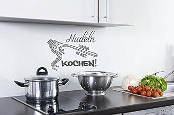 Wandtattoo Kuchen Wandspruche Nudeln Machen Ist Auch Kochen Nr 2