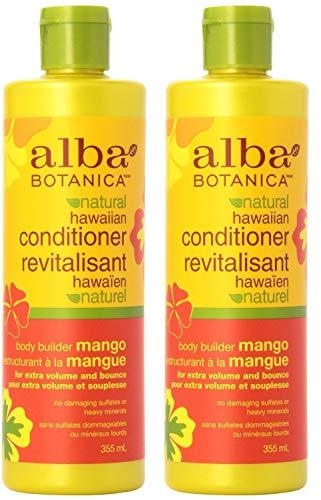 - Alba Botanica Hawaiian Hair Conditioner, Mango, 12 oz, 2 pk