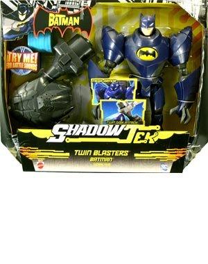 (The Batman: ShadowTek Ultra > Twin Blasters Batman Action Figure)