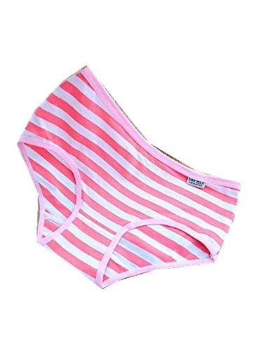 5dc5daf654 TBOP Women Underwear Cotton Breathable Cute Striped Panties Comfortable  Underwear for Women-Medium-Dark