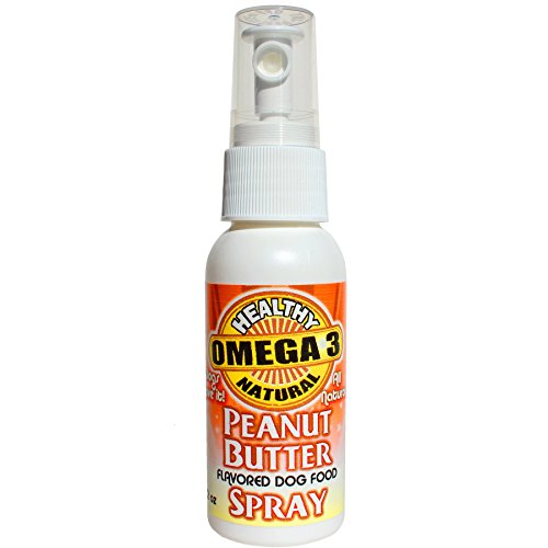 Peanut Butter Flavor Omega 3 Oil for Dogs