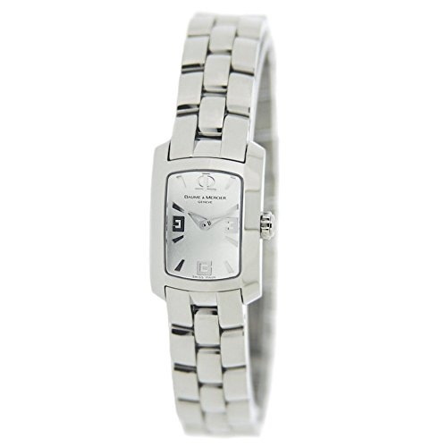 Baume & Mercier Hampton Milleis Mini Lady's Silver Dial Watch