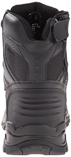 Justin Boots Mens Tek Assualt Wk110 Stivali Da Lavoro In Pelle Nera
