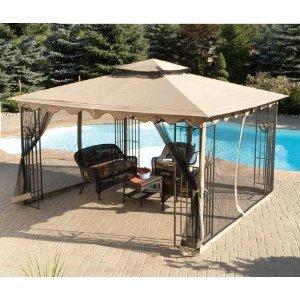 Replacement Netting for 10x12 Sun Joy Garden Gazebo