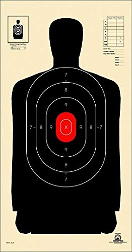 Nra Silhouette Targets - B-29 Police Silhouette Shooting Targets, 14