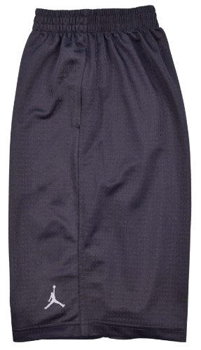 Boys Nike Air Jordan Mesh Athletic Shorts (Extra Large, Dark Grey)