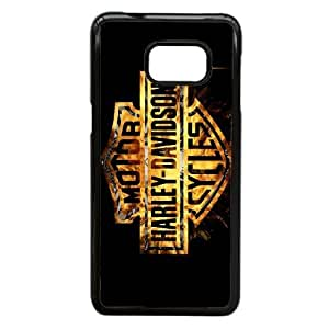 Pattern Hard Case Cover Samsung Galaxy Note 5 Edge Cell Phone Case Black Harley Davidson Kqlhx Back Skin Case Shell