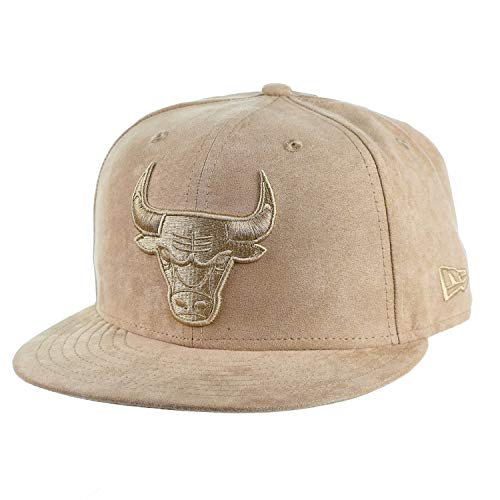 - New Era Spring Suede Chicago Bulls 9Fifty Snapback Cap Hat Wheat 80672053 (Size OS)