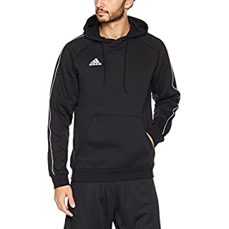 adidas Herren Core 18 Pullover, Black/White, S 6