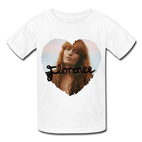Florence And The Machine Tour 2016 T Shirt For Big Boys' Girls' White L