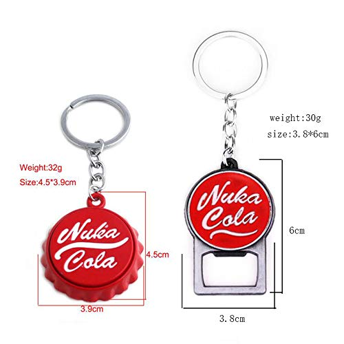 2Pcs Alloy Coke Bottle Cap Keychain Opener: Amazon com au