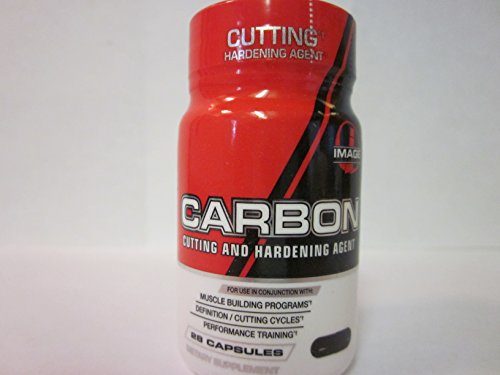 Image Sports - Carbon - Powerful Cutting & Hardening Agent - 28 Capsules