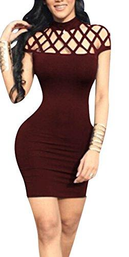 5x fishnet dress - 2