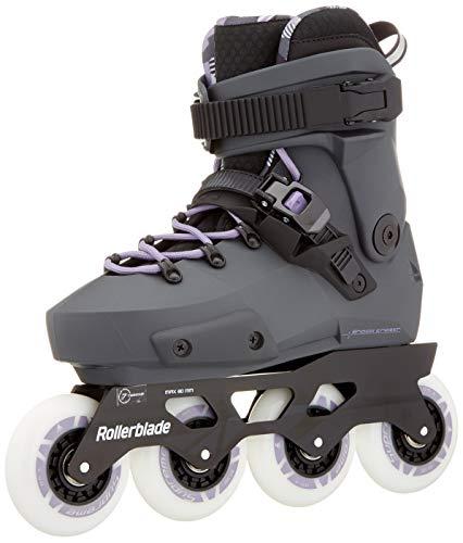 Rollerblade Twister Edge W Skates Grey, Women, Anthracite/Lilac, 255
