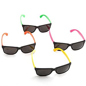 Bulk Lot of Neon Sunglasses- 36 Pair by Funny Party Hats®