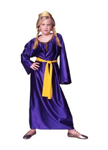 Bible Women Costumes (Child Queen Esther Costume - Medium)
