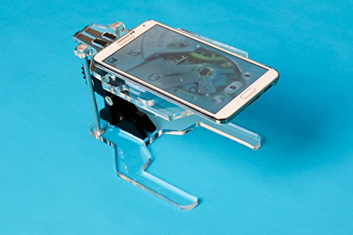 IonPacific Scopeek Smartphone Microscope Kit, Build-It-Yourself Collectors Microscope Stand with 10X Lens, Catalogue App Included, Great for Inspecting and Cataloging: Jewelry, Coins, Stamps