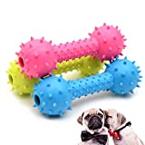CoCocina Pet TPR Pet Toy Rubber Bite-Resistant Toy Barbell Dog Toy Molar Rubber Ball Fragrance Non-Toxic
