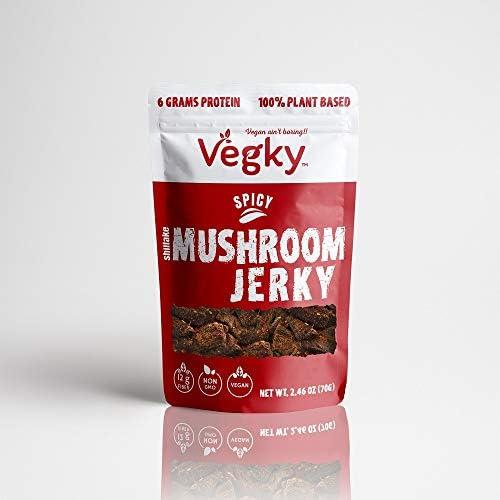 VEGKY Vegan Shiitake Mushroom Jerky SPIC